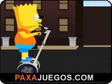 Bart Simpson Street Burglar