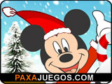 Christmas Mickey Dressup