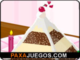 Pyramid Cake Decor