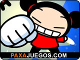 Pucca and Garu Fight